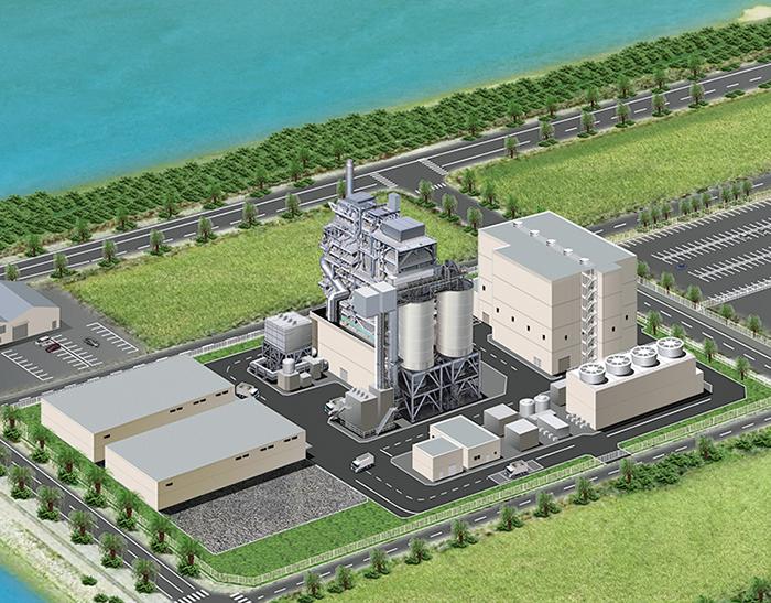 沖縄うるまニューエナジー株式会社 中城バイオマス発電所